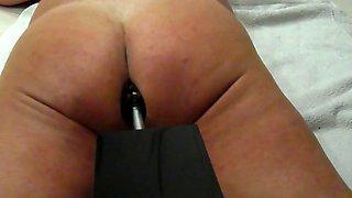 fucking machine with big plug