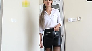 @ngel-de$ert - creampie at your secretary