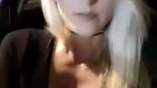 WWE - Summer Rae (Danielle Moinet) sexy selfie in car