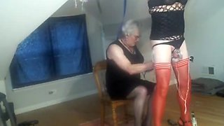 Mistress Samantha and sub Jackie 1