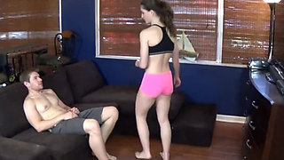 Molly Jane   Big Sister Takedown