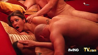 Night well spent with sensual group sex