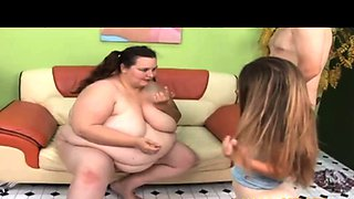 Guy Fucks a Midget and Her Big Sister