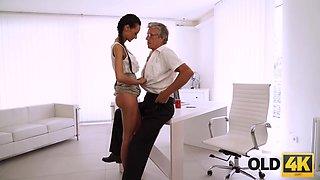 Finally she's got her boss dick