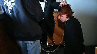 She enjoys in sado maso fetish playing.