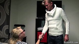 German Big Tit MILF Seduce her Personal Trainer to Fuck