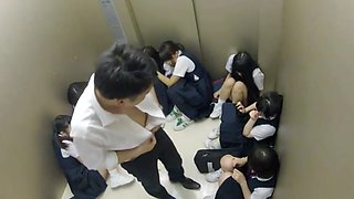 Stuck in elevator with 10 students 2