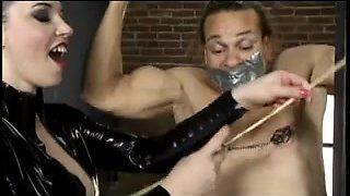 Mistress beats slave