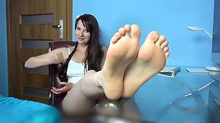 Polish step sister socksfeet joi