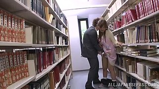 What's Happens Between The Bookshelves?