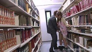 What's Happens Between The Bookshelves?