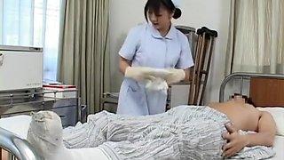 Secret play a horny nurse