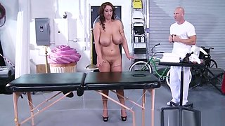 Brazzers - Dirty Masseur - Eva Notty Johnny Sins - Huge Tits