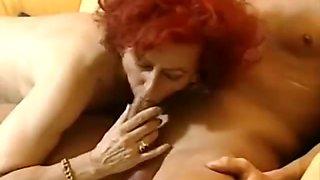 German redhead mature housewife