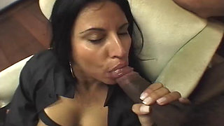 Brazilian slut takes it up the ass