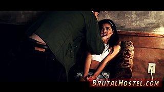 Brutal mature Poor tiny Latina teenager Gina Valentina is