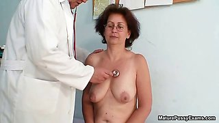 Horny old grandma gets her tight part1