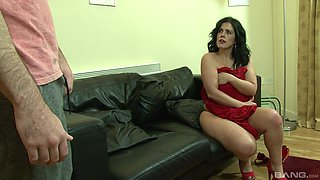Riding a stiff dick makes naughty Montse Swinger moan loudly
