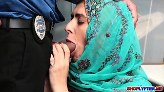 Muslim thief Audrey Royal gets a punishment