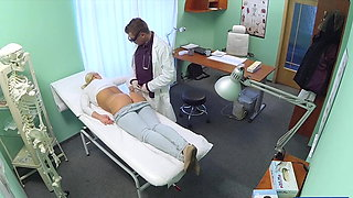 Blonde Wannabe Nurse Fucked By The Doctor