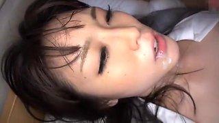 Exotic Japanese model Mikuri Kawai in Best Cunnilingus, Secretary JAV clip