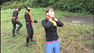 Funny outdoor dildo games