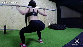 booty workout masterclass from top spanish porn stars in hot compilation