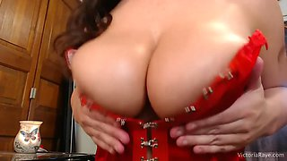 oiled tits joi