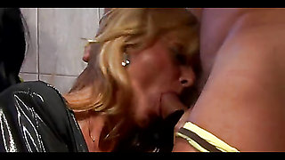 Wild Lesbians Suck The Only Cock Of The Orgy