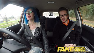 Fake Driving School Anal Sex in POV Glory