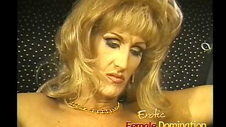 transvestite dominatrix slaps him in a hot session of the Women's