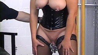 Amazing amateur Piercing, Big Tits xxx video