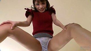Upskirt dancer