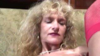Pierced Pussy Dutch Blonde Granny Fuck