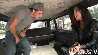 picking up a slut for sex in car film feature 1