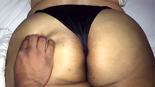 My bbw mexican girl nice thick ass fondled