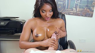 Prettiest and the hottest teacher in school Jasmine Webb fucks this daddy