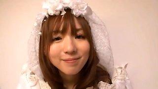 Yuu Asakura Japanese doll is a lustful bride