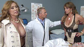 Busty Doctors Have A Great Bedside Manner