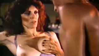 Busty and sensual sultry brunette seduced and fucked in the bar