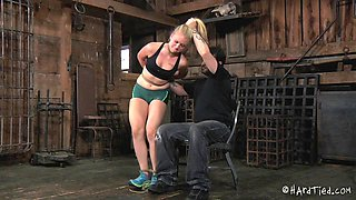 Seductive slut Tracey Sweet simply loves being tied up
