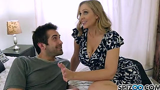 Julia Ann fucks a young man