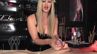 MISTRESSMIX - Mistress Nikki Whiplash Extreme Urethral Fingering And Soundi