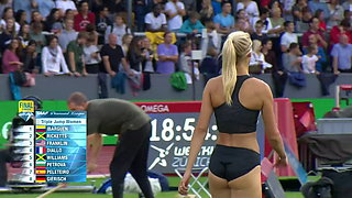 Kristin Gierisch in action ( what a girl, what a booty)