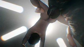 bizzar 3 d animation