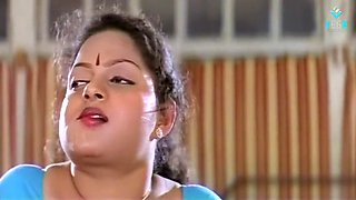 Mallu Blue Blouse Aunty With Lover Scene From B - Grade Movie