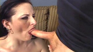 Delicious MILF Performs Blowjob And Gets Hardcore Pussy Action