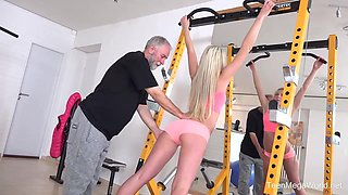 TeenMegaWorld -Old-n-Young- Gym brings sex addicts together