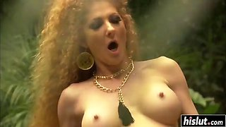 Hot annie likes to bang outdoors