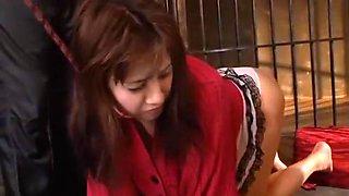 Exotic Japanese girl in Incredible Big Tits, Slave JAV video